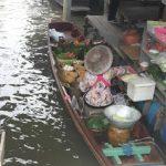Taling Chan. Mercado flotante en Bangkok menos turistico