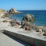 Bautizo de buceo en punta Santa Anna (Blanes)