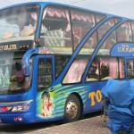 Un accidentado viaje en autobus que acabo haciendo autostop en Tailandia