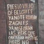 Pueblo antiguo de Belchite y la barbarie de la Guerra Civil Española