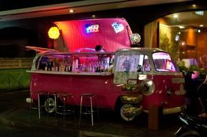 Bar furgoneta en Bangkok