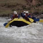 Diario de viaje a Perú. Día 4 parte 2. Rafting en el Urubamba