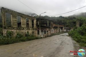 Ruinas del antiguo pueblo de Santa Teresa que fue arrasado por una crecida del rio
