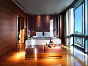 Habitación estándar del hotel. Hay suites y habitaciones de mayor categoría. Fotografía sacada de la web del hotel