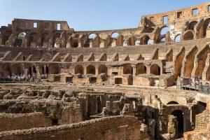 Quien sabe si en unos años el Coliseo por dentro seguirá siendo asi