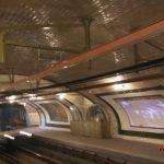La estación de metro de Chamberi
