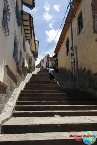 Cuesta en el barrio de San Blas de Cuzco