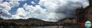 Panoramica de la plaza de Armas de Cuzco