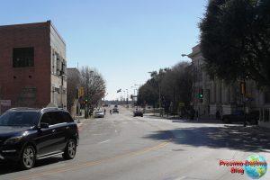 Calles ya de fuera del Downtown